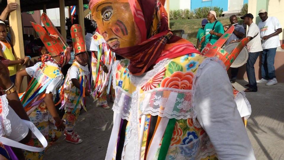Emerald Shamioles Masquerade Troupe at Calabash Festival