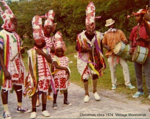 2.4 St. John's masquerade troupe around 1974
