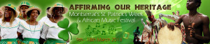 I.1 St. Patrick's Week and African Music Festival Banner